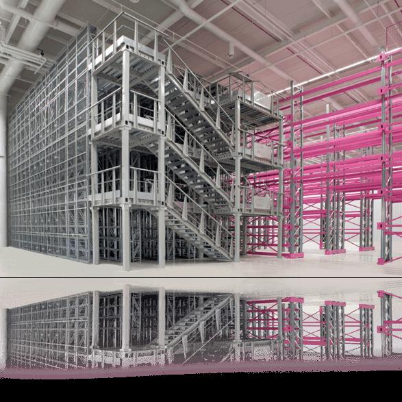 Soppalchi industriali modulari
