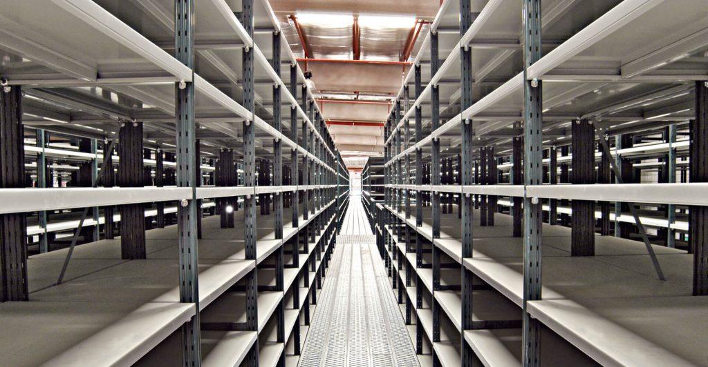 Scaffalature Iron System.Lightweight Storage Metal Shelving Rosss Scaffalature